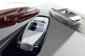Rolls-Royce Create The Phantom Zenith Collection