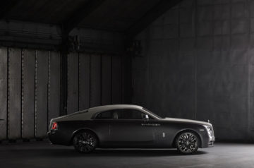 A New Luxury Rolls-Royce Wraith Luggage Collection